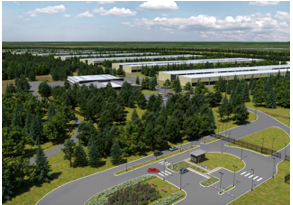 Il Data Center irlandese di  Athenry