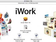 Schermata di installazione di iWork '06 - Credits: courtesy of Apple