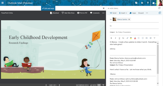 NEW OUTLOOK.COM_Side-by-side views