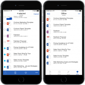 onedrive forbusiness ios