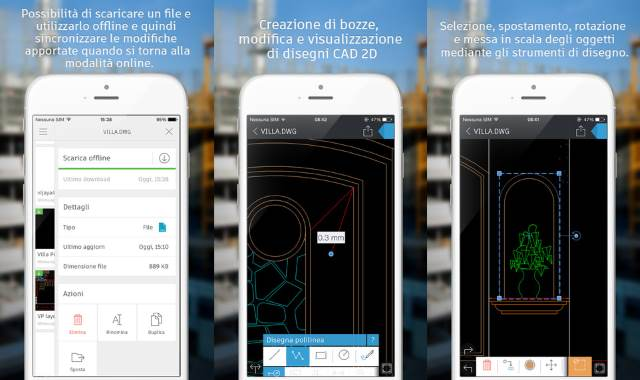 AutoCAD 360 per iPhone
