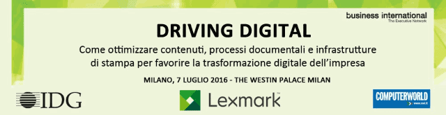 Lexmark Driving Digital - Evento