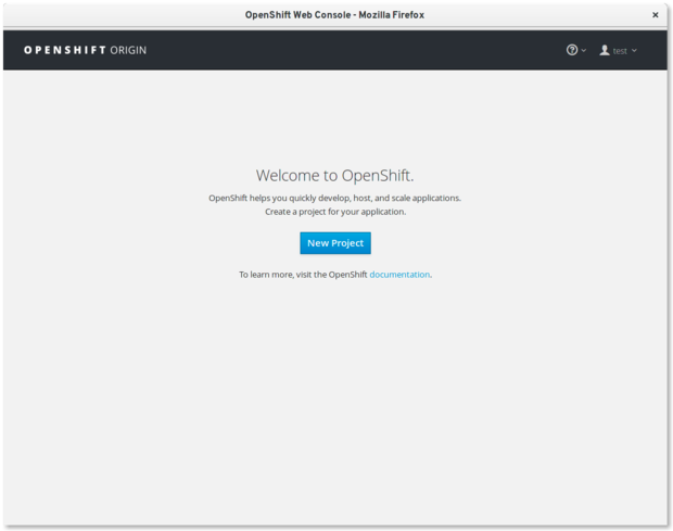 openshift-welcome