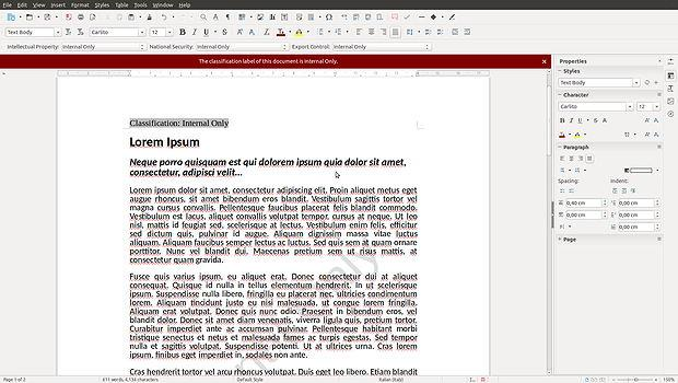 libreoffice-writer-classificazione