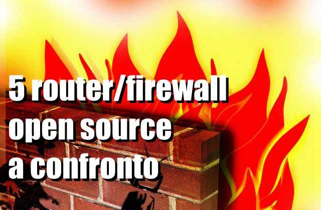router firewall open source alternative