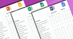 Confronto funzioni Office G Suite Word Excel PowerPoint Google Apps