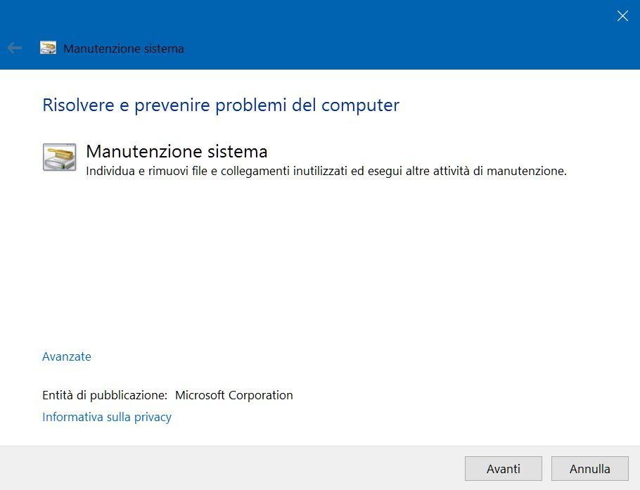 velocizzare Windows 10