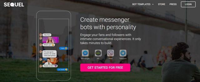 creare bot su facebook messenger: Sequel
