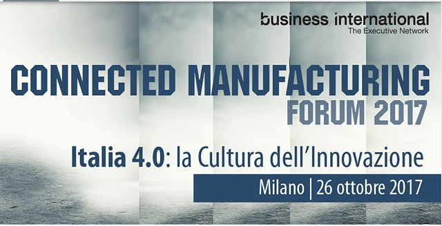 connected manifacturing forum 2017