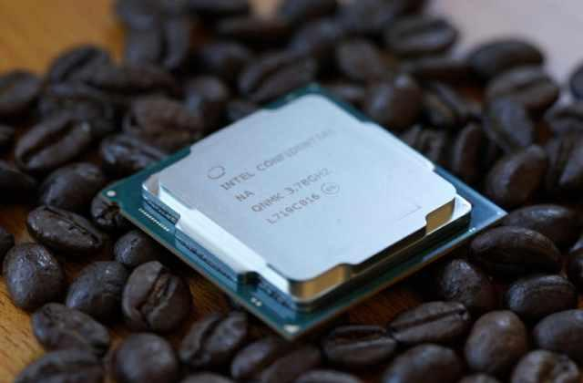 "Il processore Intel Core i7-8700K ""Coffee Lake""."