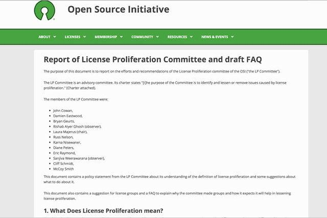 osi licenze open source