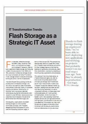 Storage Flash nel data center