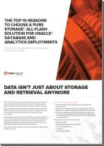 Flash storage database oracle
