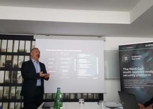 Kaspersky Endpoint Security for Business 3. Foto Fabio Sammartino, Head of Pre-Sales di Kaspersky Lab