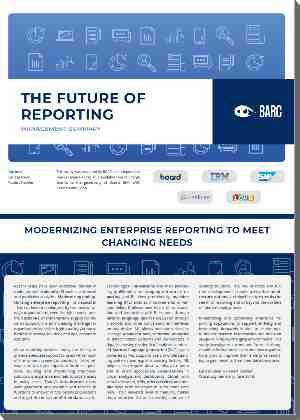 Barc The Future Of Reporting Board
